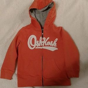 Oshkosh orange jacket